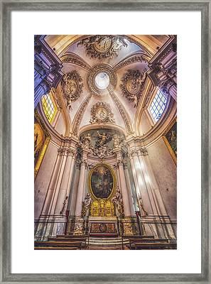 Lancelotti Chapel Framed Print by James Billings