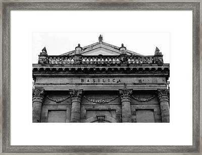 Lanciano - Fecade Of The Basilica Framed Print