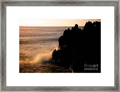 Land And Sea Framed Print by DJ MacIsaac