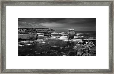 Land And Sea Framed Print by Mark Lucey