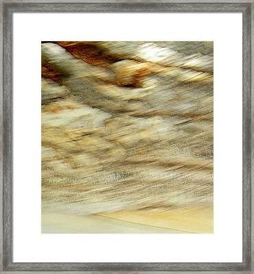 Framed Print featuring the photograph Land And Sky by Lenore Senior