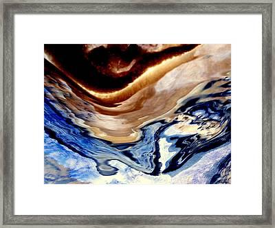 Land And Sky Framed Print