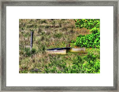 Framed Print featuring the photograph Land Locked by Tom Prendergast