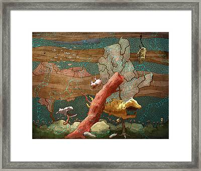 Land Lubber Framed Print by Ethan Harris