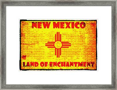 Land Of Enchantment Framed Print by Diana Powell