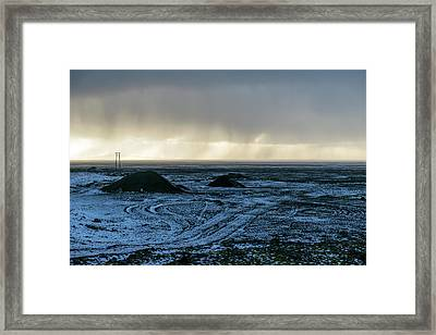 Framed Print featuring the photograph land of Lava by Dubi Roman
