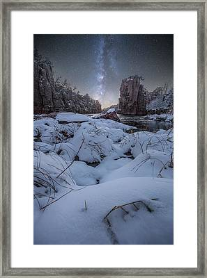 Land Of Narnia Framed Print by Aaron J Groen