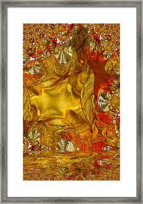 Land Of Oil And Honey Framed Print