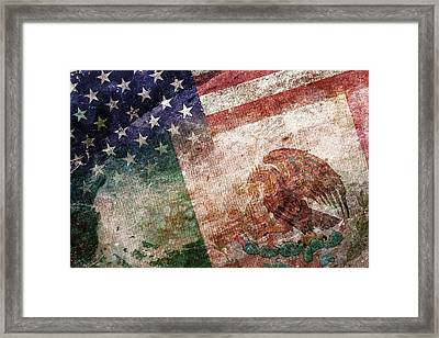 Land Of Opportunity Framed Print by Az Jackson