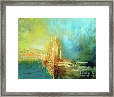 Land Of Oz Framed Print by Tatiana Iliina