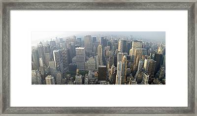 Land Of Skyscapers Framed Print