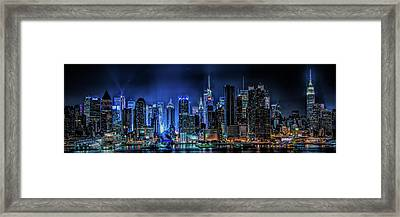 Framed Print featuring the photograph Land Of Tall Buildings by Theodore Jones