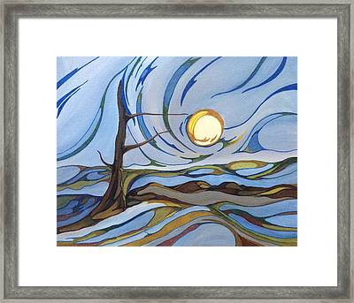 Land Of The Midnight Sun Framed Print
