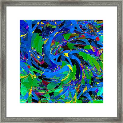 Land Unter Framed Print by Loko Suederdiek