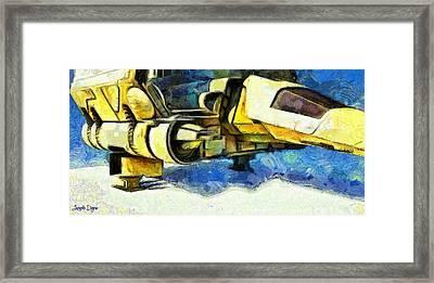 Landed Imperial Shuttle - Pa Framed Print