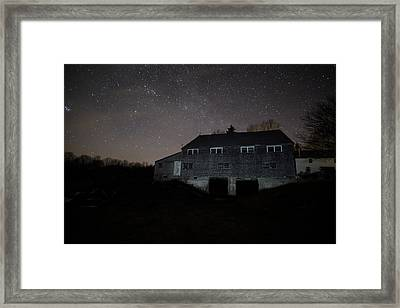 Landfall At Night Framed Print