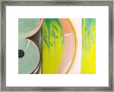 Inspired By Cordyline Electra Ti Framed Print by Barrington Binger