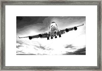 Boeing 747 Framed Print
