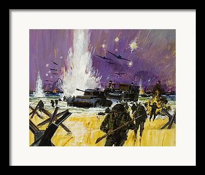 Anti-tank Framed Prints