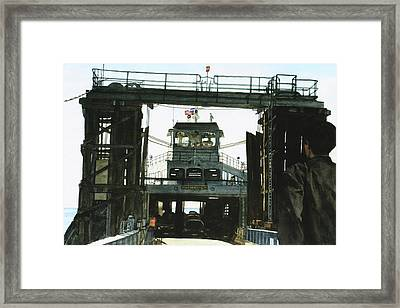 Landing Framed Print by Perry Woodfin