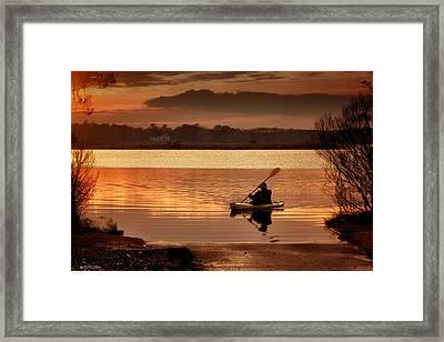Landing Framed Print by Phil Mancuso