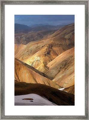 Landmannalaugar Framed Print by Tor-Ivar Naess