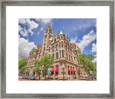 Landmark Center, Saint Paul Minnesota Framed Print by Jim Hughes