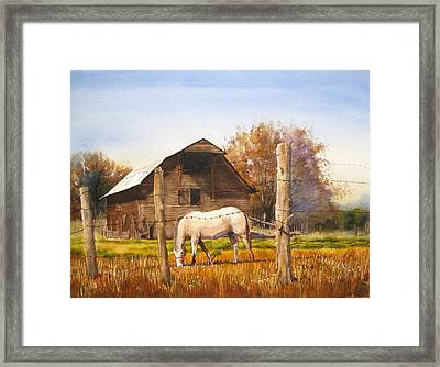Landmark Framed Print by Shirley Braithwaite Hunt