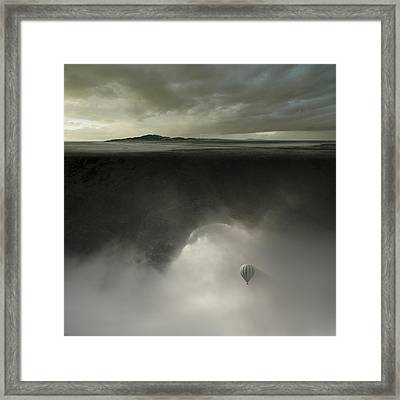 Landmass Framed Print
