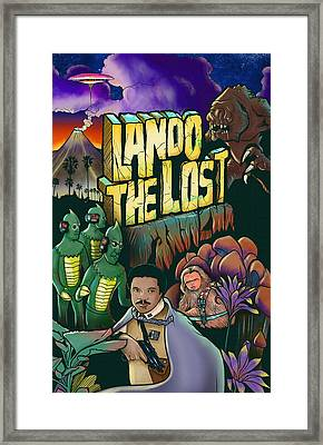 Lando The Lost  Framed Print by Jason  Wright