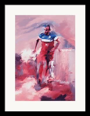 Landon Donovan Framed Prints