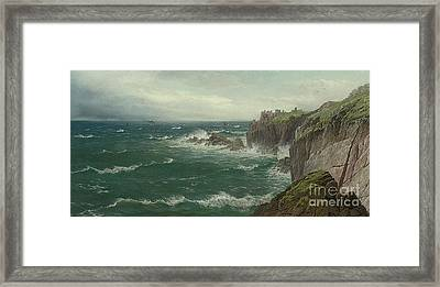 Land's End Framed Print by Celestial Images