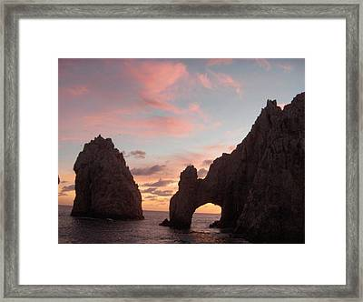 Lands End Framed Print by Janet  Hall