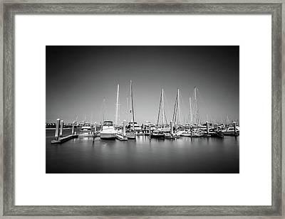 Lands End Marina  Framed Print