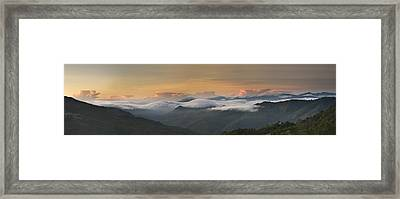 Landscape - Panorama View Framed Print by Ng Hock How