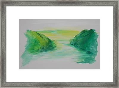 Landscape 1 Framed Print by Amy Stewart Hale