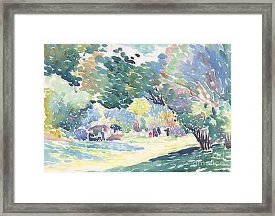 Landscape, 1904 Framed Print