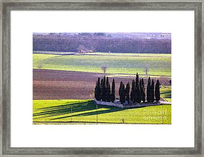 Landscape 3 Framed Print by Jean Bernard Roussilhe