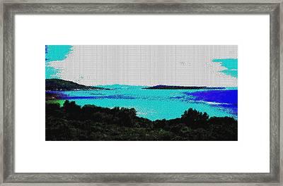 Landscape 32 Version 1 Framed Print