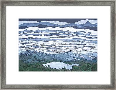 Landscape 381 Framed Print