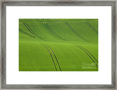 Landscape 5 Framed Print by Jean Bernard Roussilhe