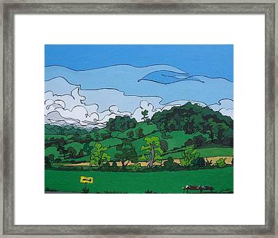 Landscape 63 Framed Print