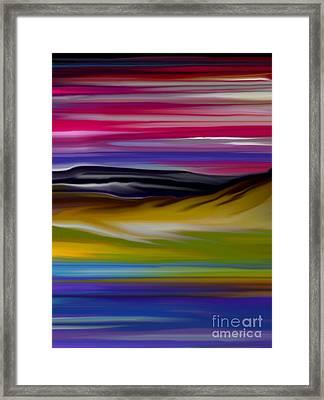 Landscape 7-11-09 Framed Print by David Lane