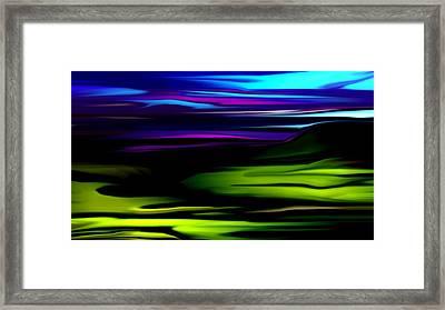 Landscape 8-05-09 Framed Print