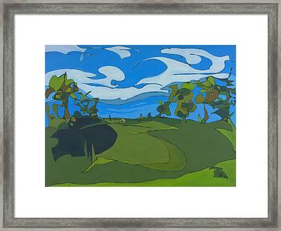 Landscape 9 Framed Print