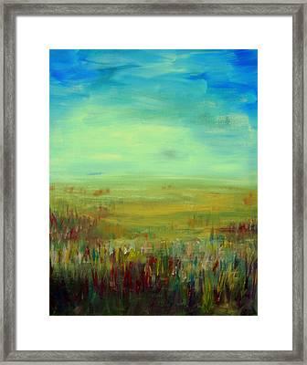 Landscape Abstract Framed Print