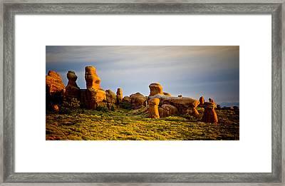 Landscape Arch 2 Framed Print