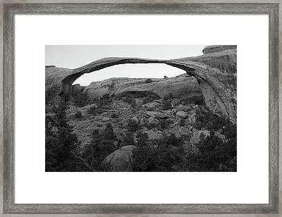 Landscape Arch Framed Print