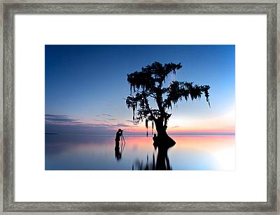 Landscape Backstage Framed Print