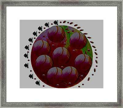 Landscape Decorative Framed Print by Pepita Selles
